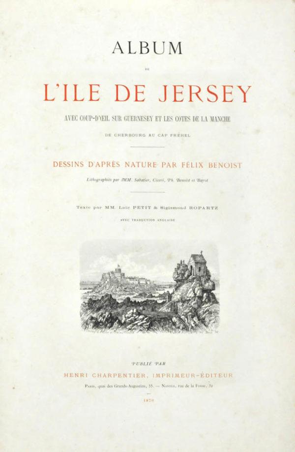 Felix. Album de L'Ile de Jersey - 2