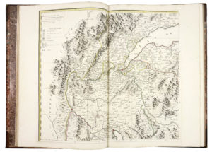 Andrew. A Chorographical Map of the King of Sardinia's Dominions ... [BOUND WITH]