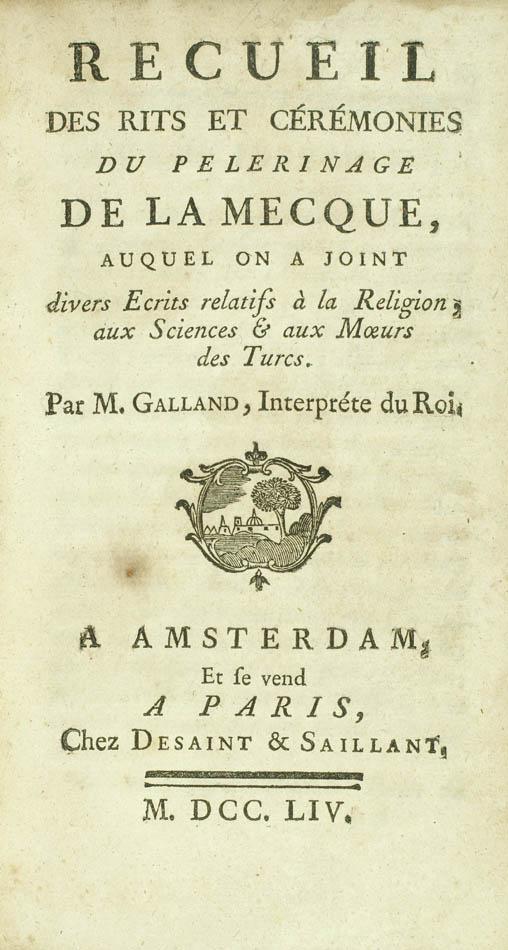 Julien Claude. Recueil des rits et cérémonies