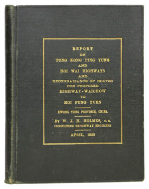 W.J.H. Report on Tung Kong Ping Yung