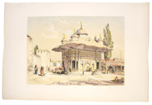 John F. Lewis's illustrations of Constantinople