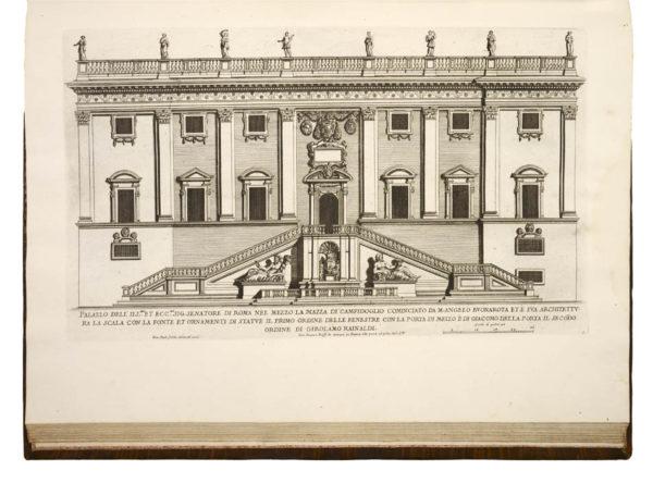 Pietro; Giovanni Giacomo DE' ROSSI. Palazzi di Roma. [1696-1702]