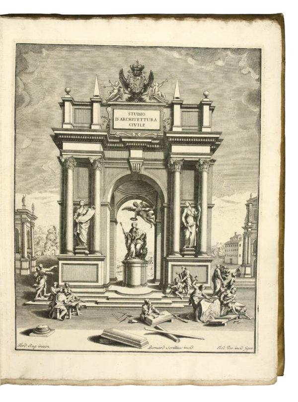 Ferdinando. Scelta di architetture antiche e moderne della citta di Firenze.