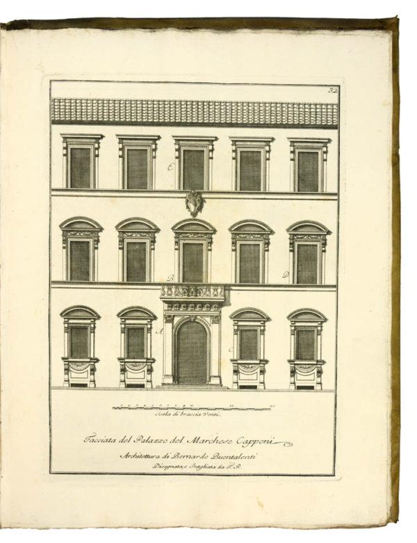 Ferdinando. Scelta di architetture antiche e moderne della citta di Firenze. - 3