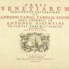 Antonio. Urbis Venetiarum prospectus celebriores