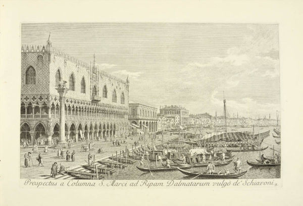 ex Antonii Canal tabulis. - 2