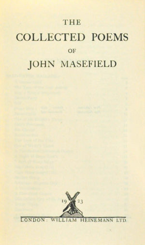 John. Collected poems.