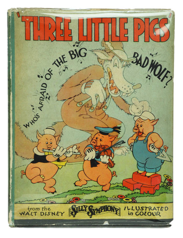 [WALT DISNEY]. Three Little Pigs.