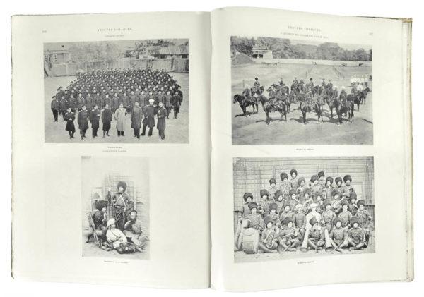 F. and E. de and P. CAMENA d'ALMEIDA. L'armee Russe D'Après les Photographies Instantanées Executées par MM. de Jongh Frères.