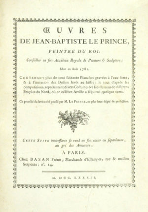 Jean-Baptiste. Oeuvres.