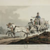 MORNAY. Set of Eight Hand-Coloured Plates of Sledges.