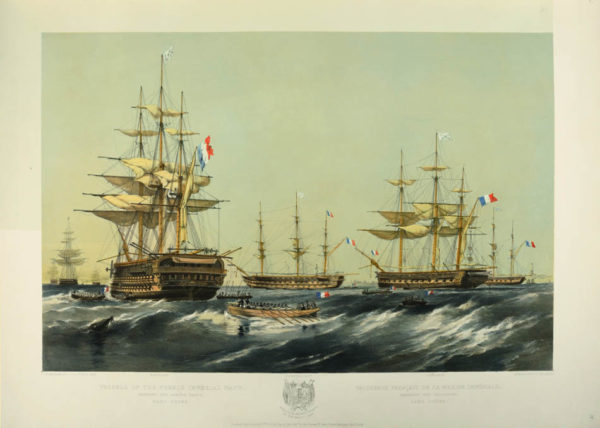 Oswald Walters. The English and French fleets in the Baltic