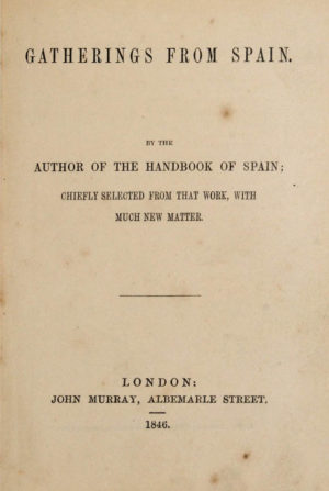 John Spain. Gatherings from Spain