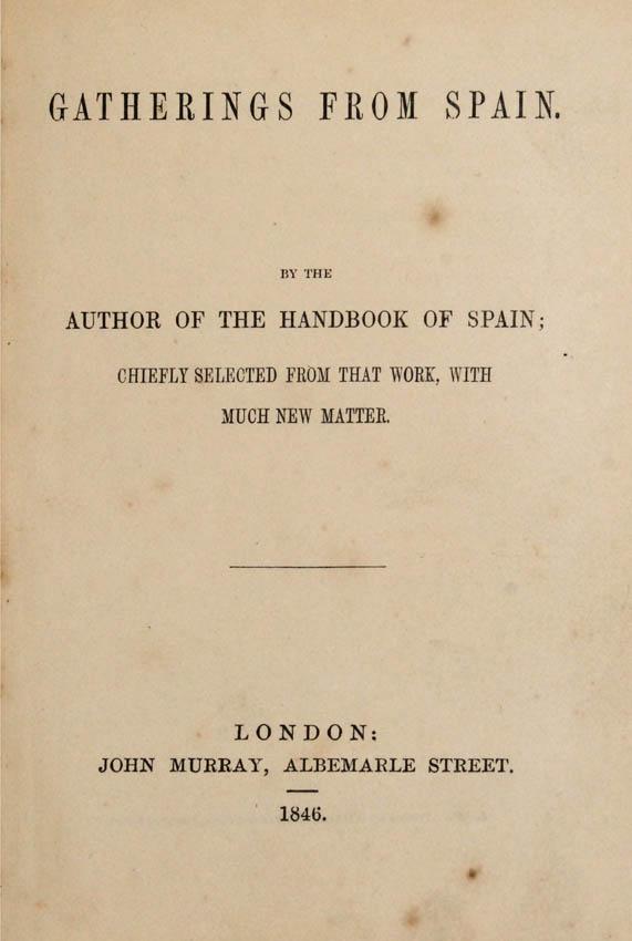 John Spain. Gatherings from Spain