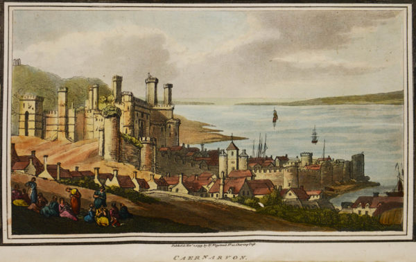 Illustrator; Henry Wigstead. Remarks on a tour to North and South Wales.