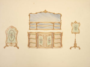 Henry. A Series of Designs of Furniture & Decoration in the Style of Louis XIVth