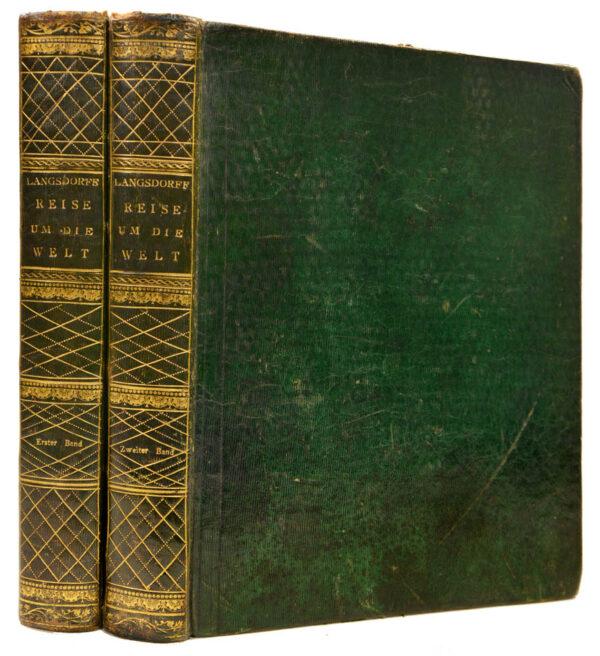 Georg Heinrich von. Bemerkungen auf einer Reise um die Welt in den Jahren 1803 bis 1807.