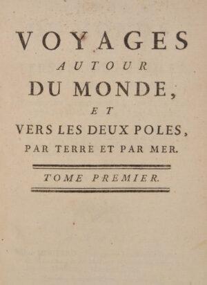 Pierre Marie François (Vicomte de). Voyages autour du monde