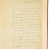 [Sir] Robert. Autograph Letter Signed to William Merry Esq.