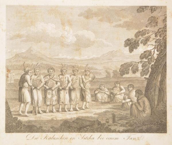 Georg Heinrich von. Bemerkungen auf einer Reise um die Welt in den Jahren 1803 bis 1807. - 4