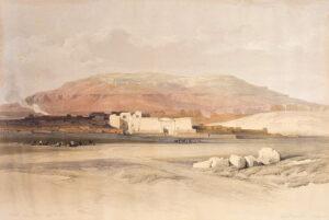 Roberts & Haghe, Sidon. Looking towards Lebanon